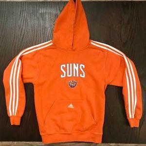 Adidas NBA Phoenix Suns Hoodie Bright Orange